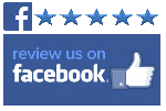 Review us on Facebook Logo